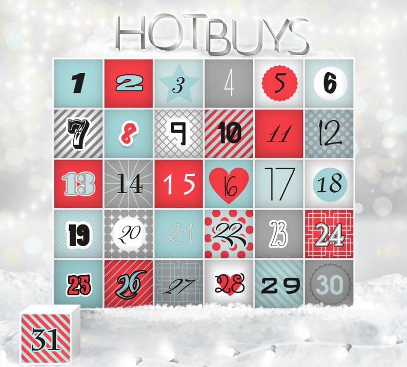 HotBuys calendar 2014