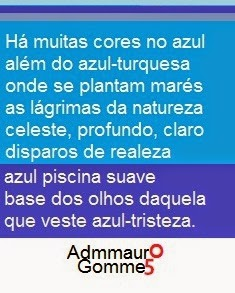 ALÉM DO AZUL-TURQUESA