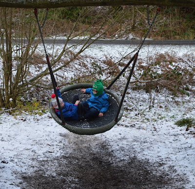 Adventure play area at Hamsterley Forest Durha