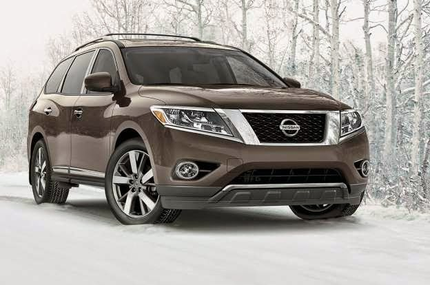 With a new starting price of $30,395 including destination fees, the 2015 Nissan Pathfinder will get a mild price hike compared to the 2014 version. Excluding a handful of changes to the content of specific trim levels and packages, the Pathfinder will soldier on without much deviation from the redesigned version that debuted in 2012 as a 2013 model.  As before, all Nissan Pathfinder vehicles come equipped with a 260-hp 3.5-liter V-6 engine, a continuously variable transmission, and either standard front- or optional all-wheel drive ($1690). The Pathfinder S with front-wheel drive remains the most affordable version of the Nissan SUV, followed by the all-wheel-drive Pathfinder S, which starts at $32,085. All-wheel-drive 2015 Nissan Pathfinder vehicles now receive Hill Descent Control as standard.  Next up is the 2015 Nissan Pathfinder SV, which starts at $33,695 with front-wheel drive and $35,385 with all-wheel drive. The SV trim now adds fog lights, an auto-dimming rearview mirror with a universal transceiver, and heated side mirrors. As before, opting for the SV trim adds on push-button start, a backup camera, a power-operated driver's seat, satellite radio, automatic headlights, Bluetooth, and rear parking sensors. Optional equipment unique to the SV trim is a $400 trailer tow package. Further up the ladder is the 2015 Nissan Pathfinder SL, starting at $36,945 with front-wheel drive and $38,635 with all-wheel drive. The SL trim adds remote start, a power liftgate, heated mirrors, and leather first- and second-row seats. New for 2015 on SL models are a 120V power outlet, blind spot warning, and rear cross traffic alert (also included for the Platinum trim). The optional $2,030 SL Tech package bundles navigation, Bluetooth audio, a Bose 13-speaker sound system, as well as a newly included Around View 360-degree camera technology and a tow hitch and harness. Now available on the $3,330 SL Premium package are the aforementioned Around View and navigation systems, on top of the Bose audio system, panoramic sunroof, and tow hitch.   Leading the pack is the 2015 Nissan Pathfinder Platinum, priced at $42,295 with front-wheel drive and $43,895 with all-wheel drive. In addition to the SL trim's equipment, the Platinum model upgrades the standard 18-inch wheels to aluminum 20-inchers, a dual panoramic sunroof (previously an option on the Platinum model), Around View monitoring, Bose audio, a heated steering wheel, and cooled front seats. Gone is last year's Platinum Premium package, which has been replaced with the new Family Entertainment package that adds a dual headrest 7.0-inch DVD entertainment system for $1700.