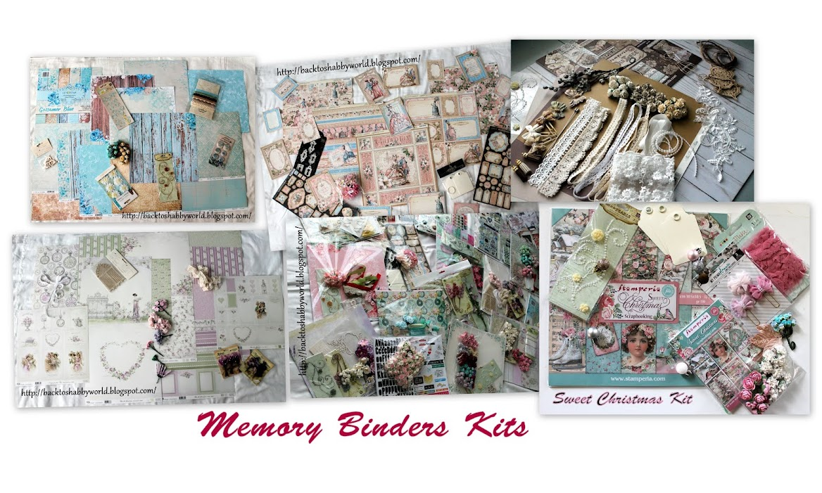 Memory Binders Kits