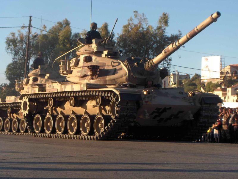 Fuerzas Armadas de Jordania Jordan+M60