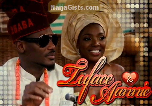 2face annie idibia wedding video