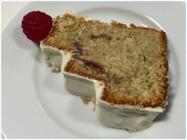 Raspberry and White Chocolate Bundt Cake   Dollybakes