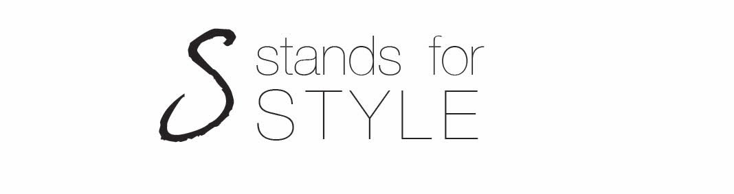 S stands for style