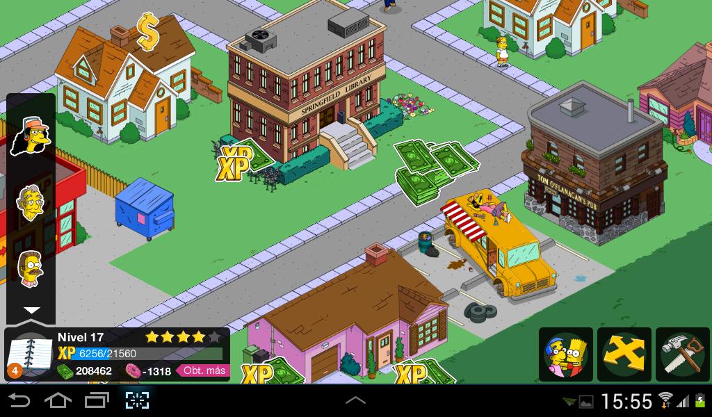Descargar Los Simpson Springfield Modificado 4.2.4 (Sin Error de