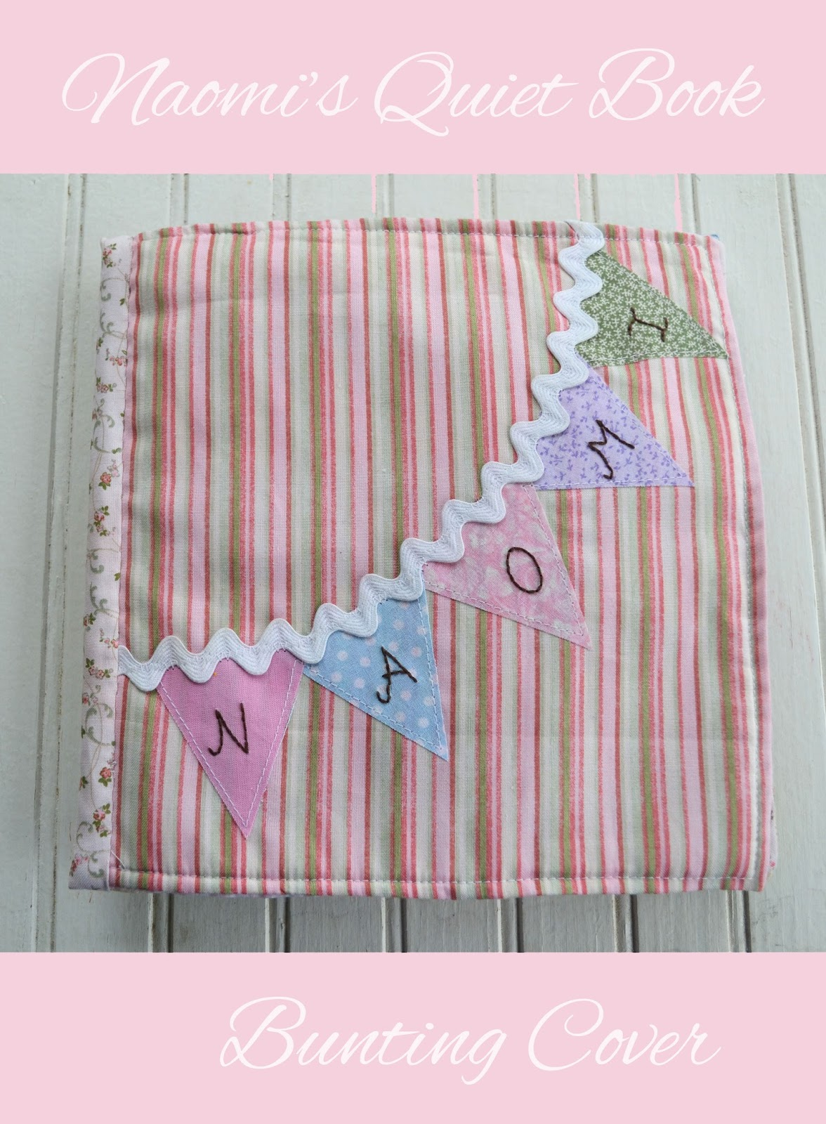 Bunting Quiet Book Cover