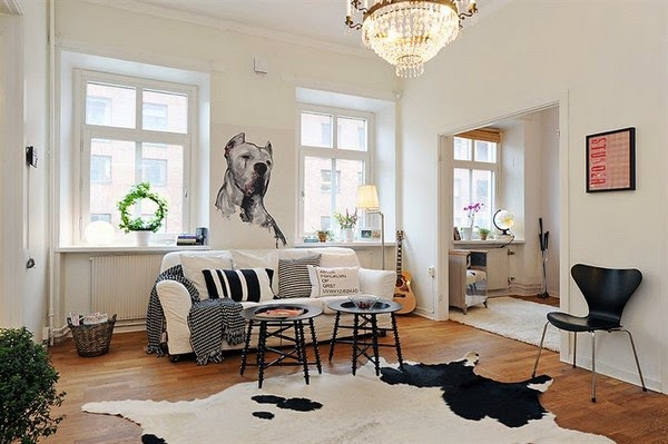 Scandinavian Living Room Decoration