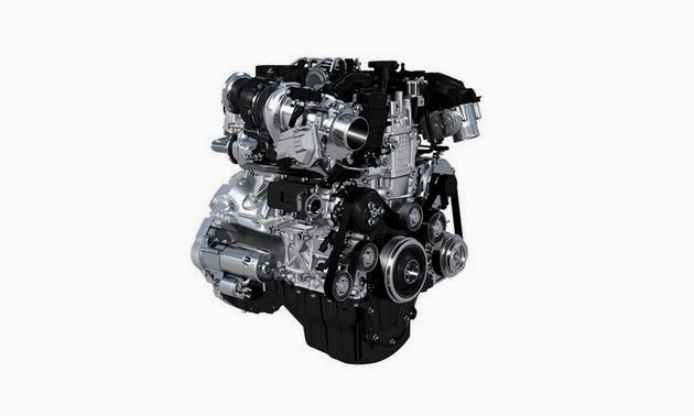 picture of Jaguar XE engine