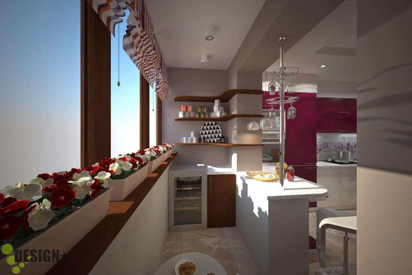 Дизайн кухни совмещенной с лоджией фото 2015 современные идеи.