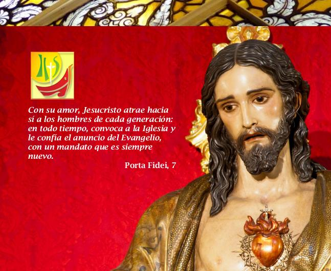 MES DE JUNIO EN HONOR AL SAGRADO CORAZÓN DE JESÚS EN EL AÑO DE LA FE