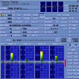 Danny Raziel - Schizos & M.F.M.F.T. 1994-97 (TIO014)