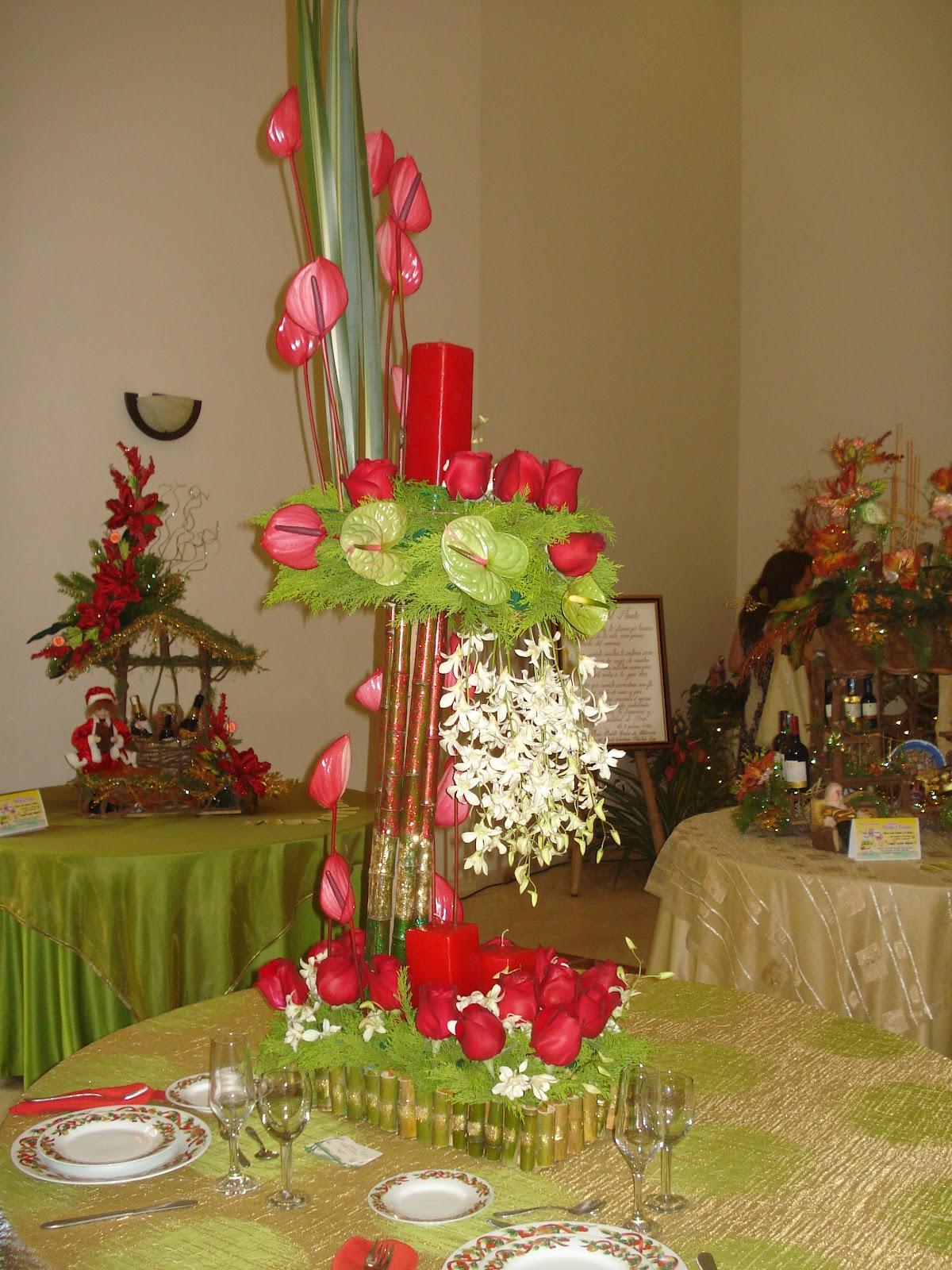 Decoraci n floral aura rosa camacho arreglos navide os parte2 - Camacho decoracion ...