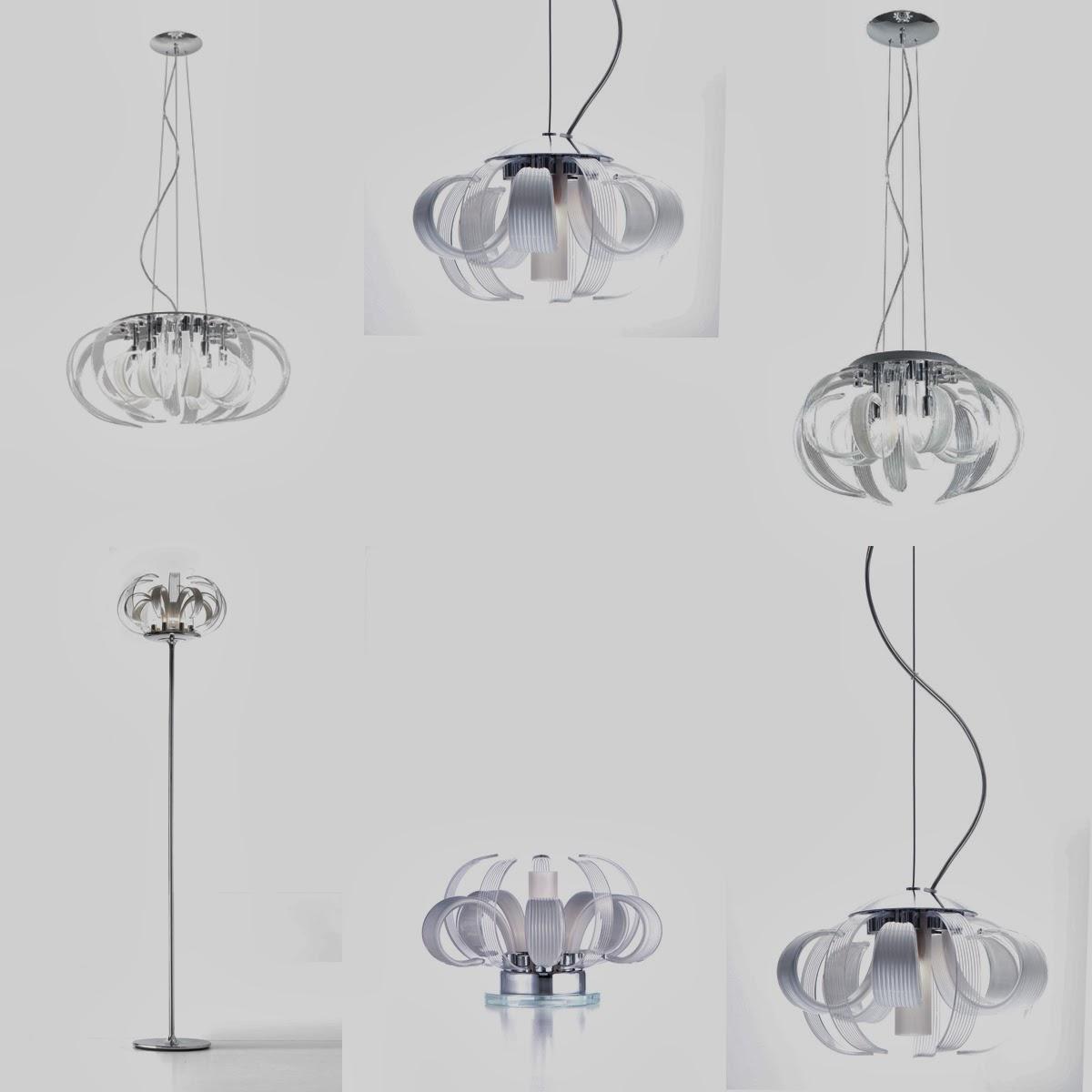lampadari micron : Micron Illuminazione Mama, orchidea di cristallo