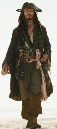 Inside The Costume Box Captain Jack Sparrow Pirate Costume