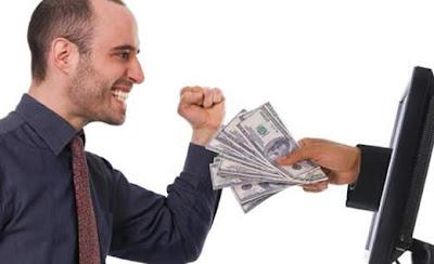 cobrar el dinero ganado por internet