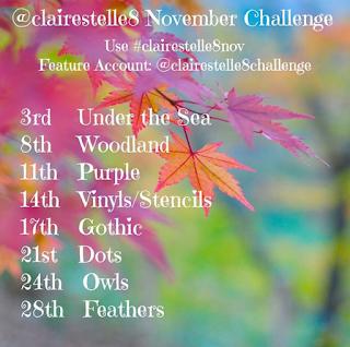 clairestelle8 November Challenge
