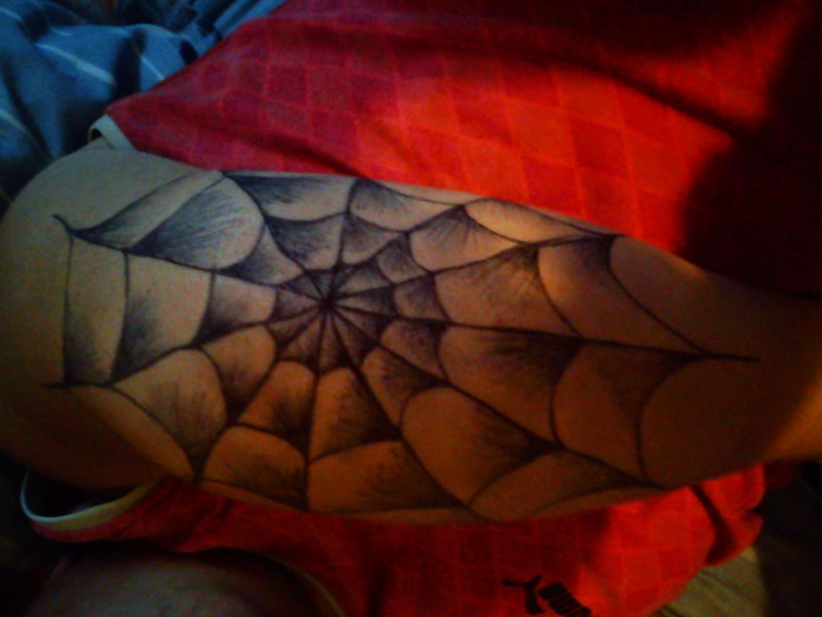Freestyle Tattoo Toile D Araignee