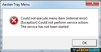 Wamp Server Could not execute menu item (internal error) [Exception]