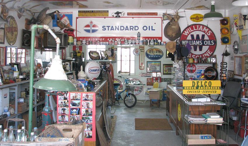 Vintage spirit d co us - Deco garage vintage ...