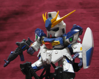 Gashapon Next15 RGZ-91B Re-GZ Custom : Lightning Gundam colored