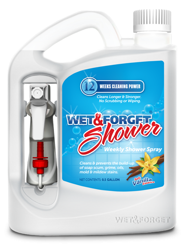 Wet U0026 Forget Shower Cleaner Review