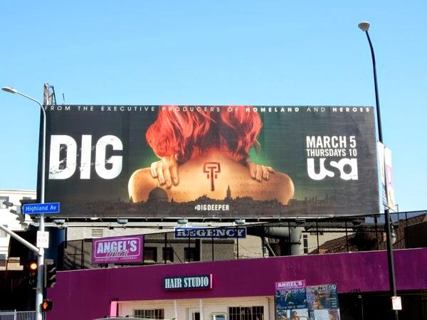 Dig season 1 billboard
