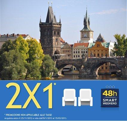 Praga low cost 2x1