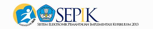 SEPIK | Sistem Elektronik Pemantauan Implementasi Kurikulum 2013