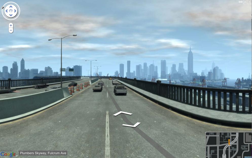 gta google maps street view