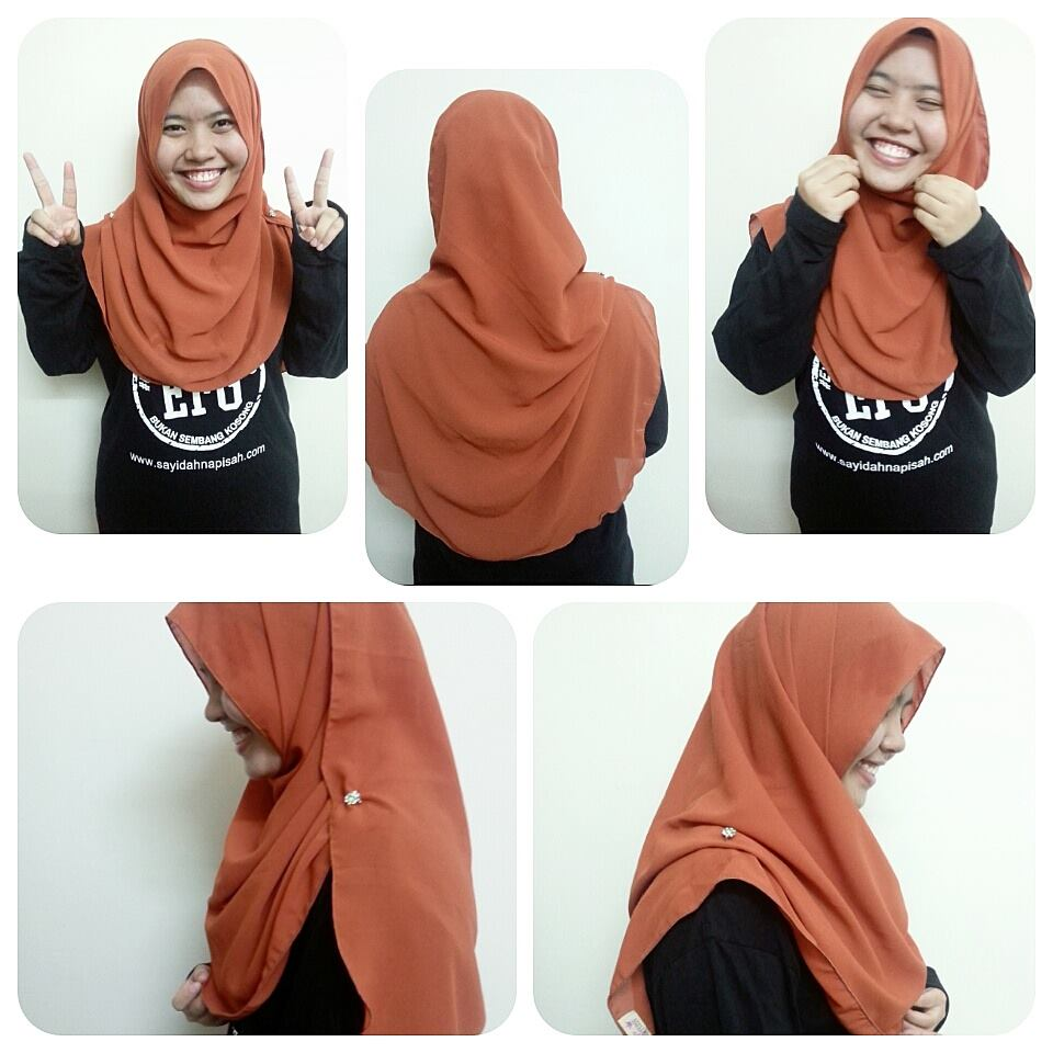 Review Zara Shawl High Quality Chiffon, Soft & Glowy