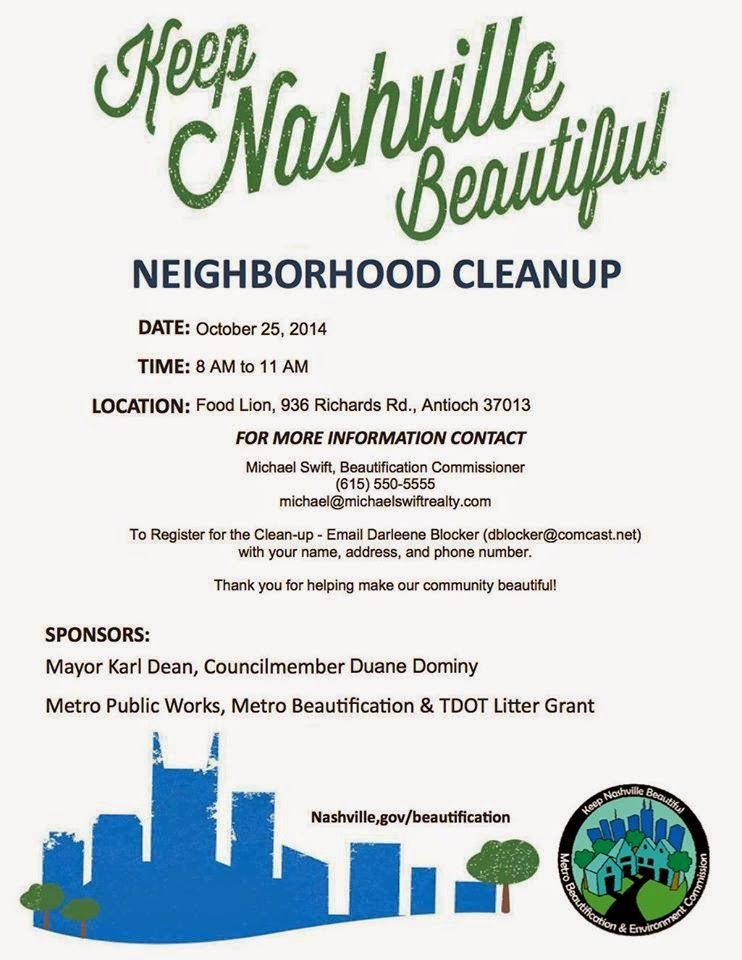 Antioch Neighborhood Clean-Up