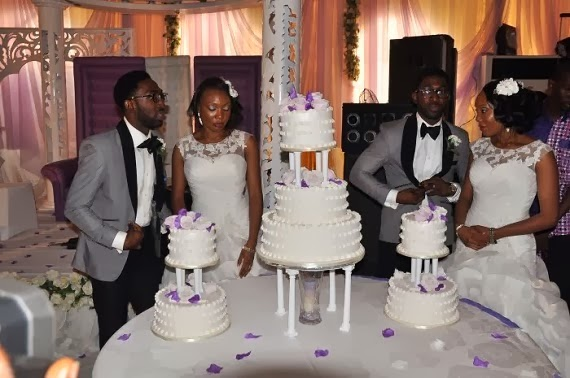 This Naija Twin Sisters Married This Twin Brothers and They've Made Guinness World Record [PHOTO]
