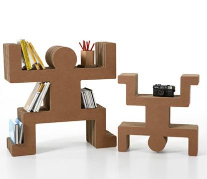 Decora y disena muebles de hechos de cart n - Carton para muebles ...