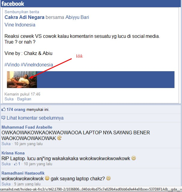 Cara Download Video dari Facebook Tanpa Software