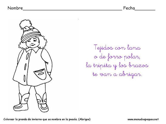 Poesia al invierno infantil imagui for Poemas de invierno