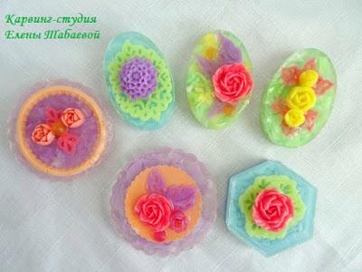карвинг-сувениры из мыла елена табаева