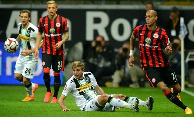 Eintracht Frankfurt 0-0 Borussia Mönchengladbach Bundesliga