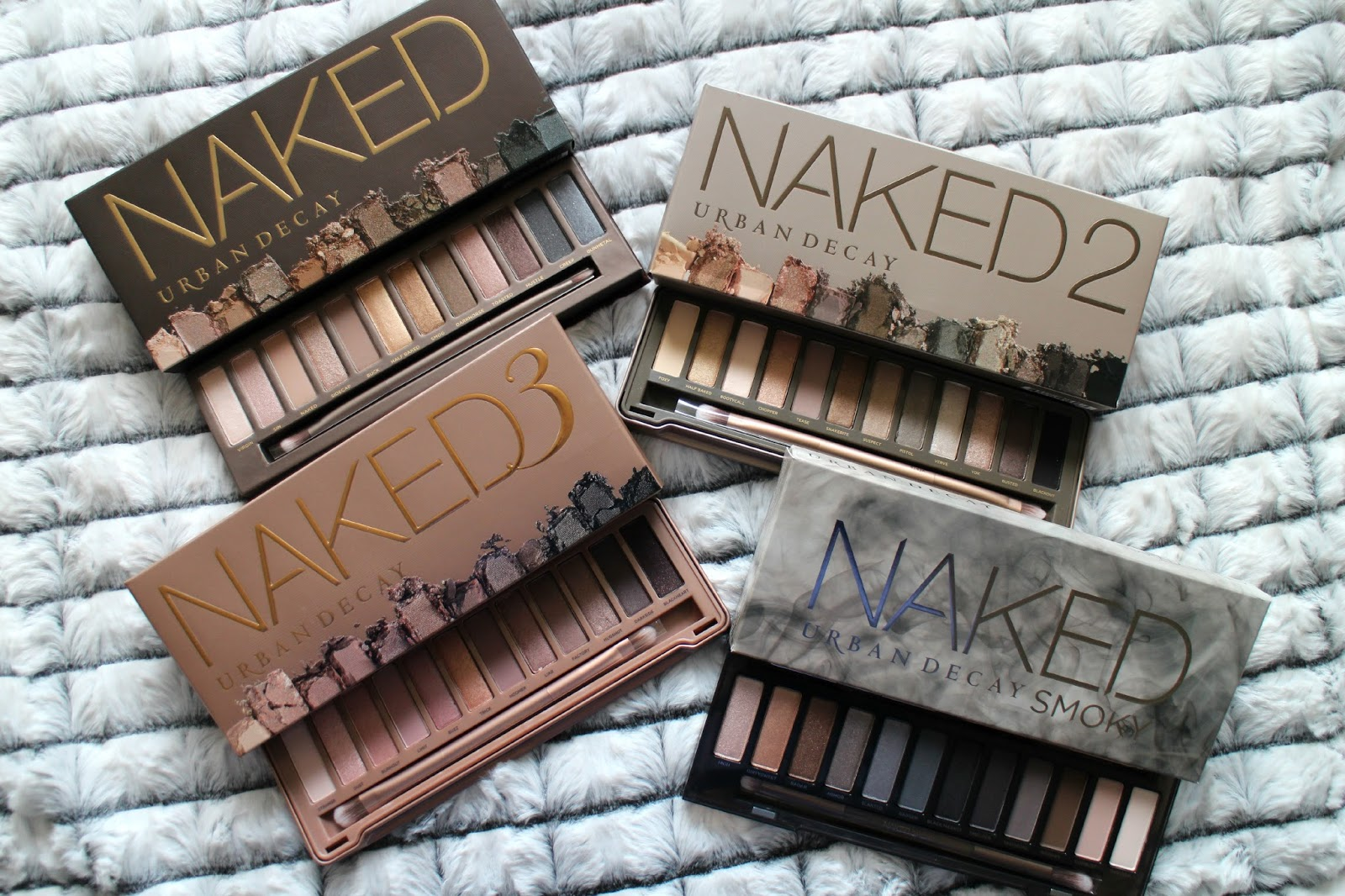 Urban Decay Naked Palettes Giveaway