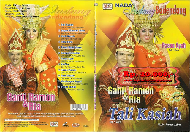 Ganti Ramon & Ria - Tali Kasiah (Album Nada Indang Badendang)