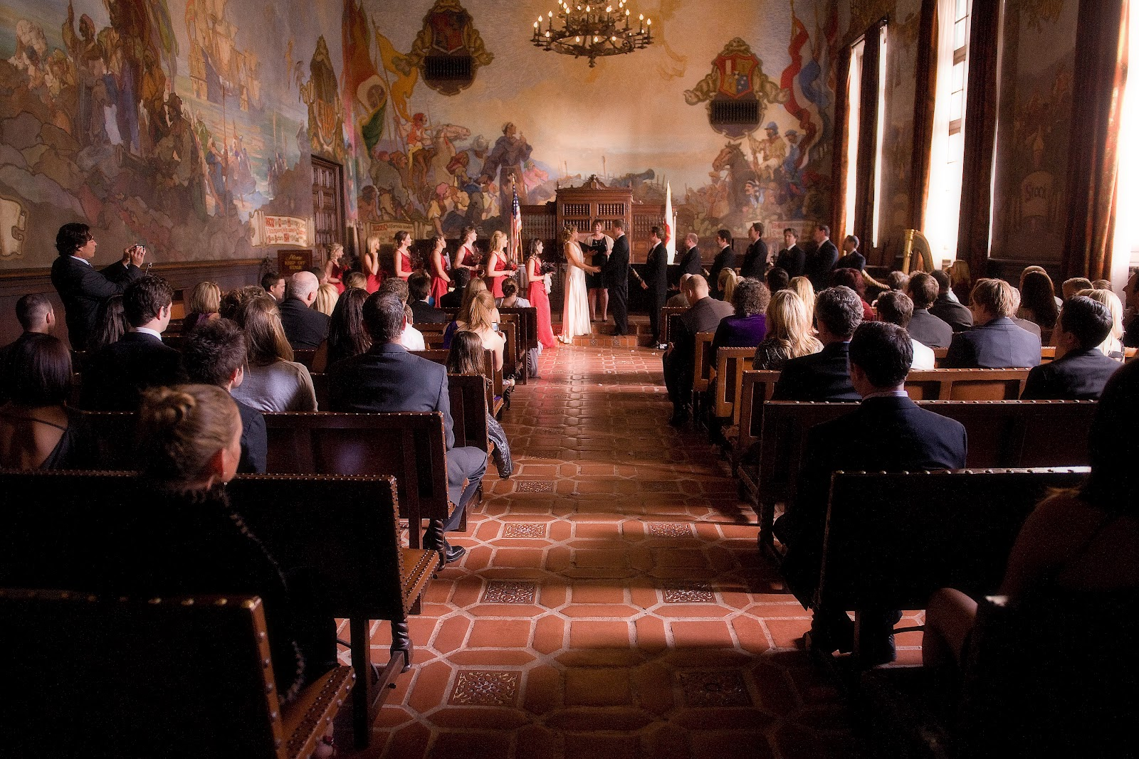 Simply santa barbara weddings events for Mural room santa barbara courthouse