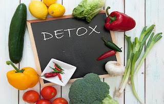 detoks tubuh dengan 9 makanan ini