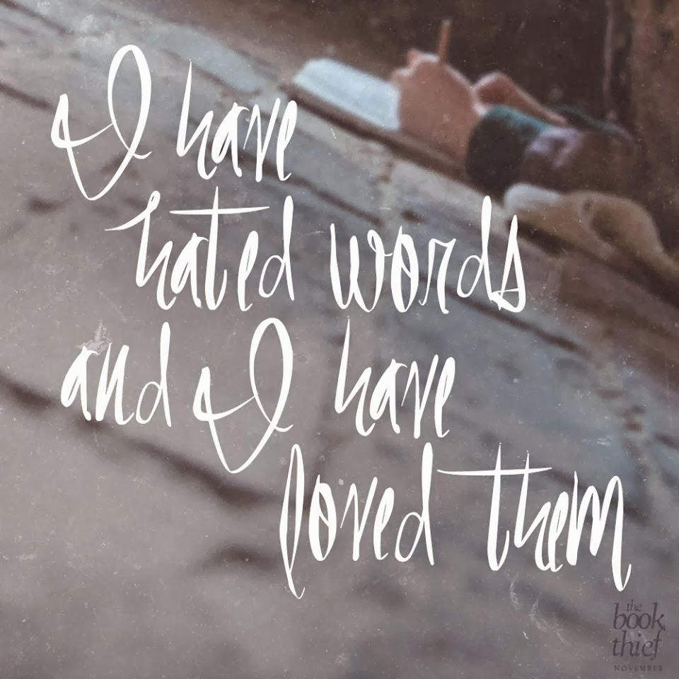 i have hated words and i have loved them