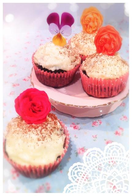 Cherie Kelly's Black Bottom Cupcakes