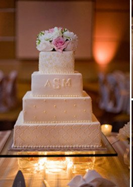 Let Them Eat Cake (At Your Wedding): Are Glass Blocks The New ...