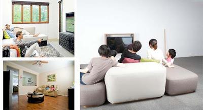 jarak & cahaya yang ideal menonton tv