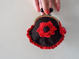 crochet purse porte monnaie au crochet