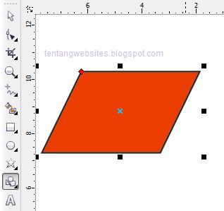 Fungsi basic shapes pada corelDraw