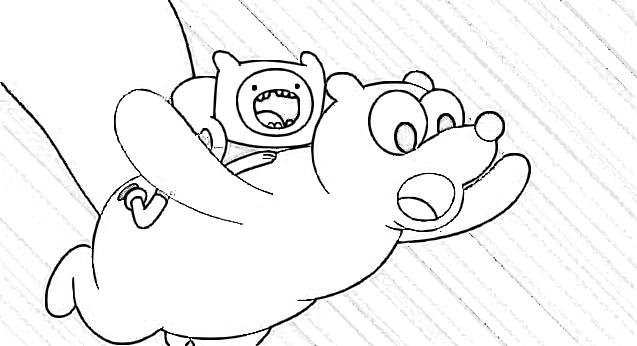 Dibujos para pintar de Hora de Aventura 5 Temporada ~ Dibujos Gratis ...