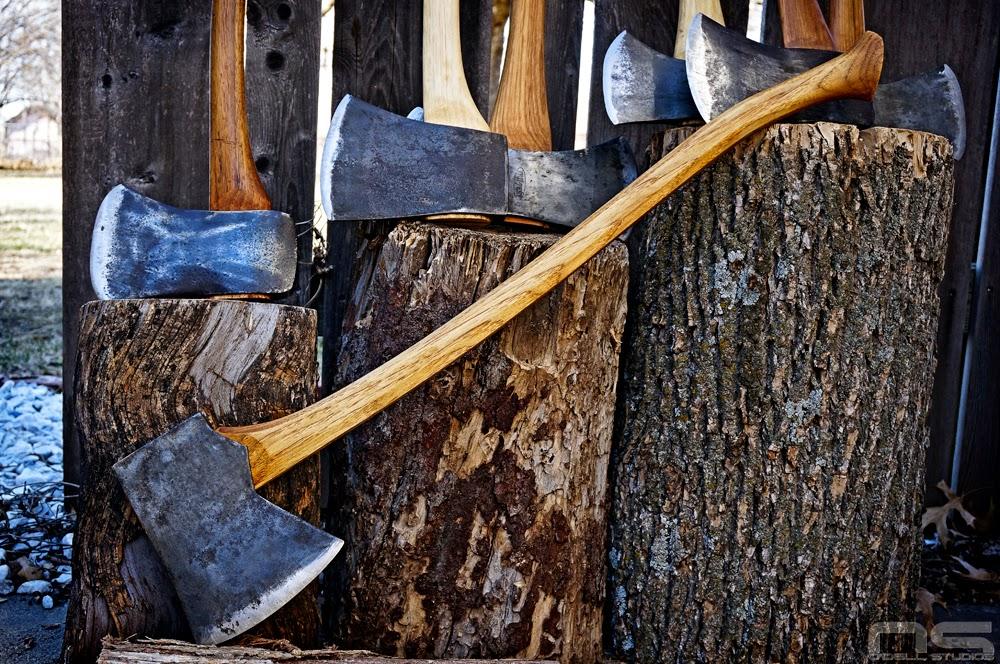 vintage axe restoration refurbished